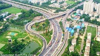 Tour - Digital Dhaka City In Bangladesh ! - Beautiful Road Trip !!