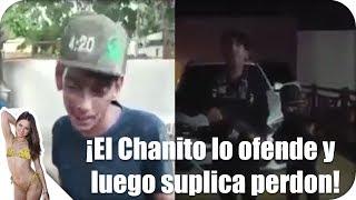 El Chanito de Culiacan insulta al Mencho y luego le suplica perdón!
