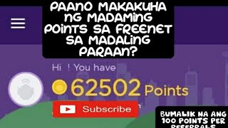 Freenet Tricks To Earn More Points