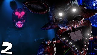 HIDING FROM THE IGNITED ANIMATRONICS! || The Joy of Creation: Story Mode (Five Nights at Freddys)