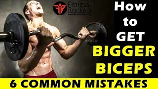 Bodybuilding Tips | How to get big arms, triceps & biceps fast | Hindi | Fitness Rockers
