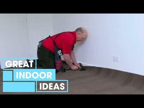 DIY: How to Lay Carpet - Laying your Carpet
