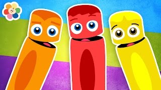 Colors Compilation for Kids | Learn Colors for Children | Color Crew | BabyFirst TV