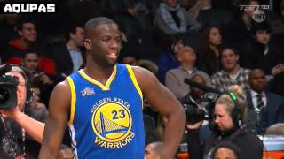 2016 NBA All Star Weekend   Draymond Green vs Kevin Hart 3 Point Contest