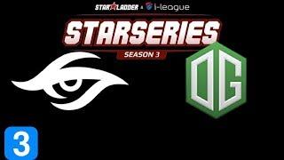 Secret vs OG Game 3 SL i-League Invitational Season 3 Highlights Dota 2