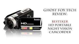 Besteker HD Portable Night Vision Camcorder - Review
