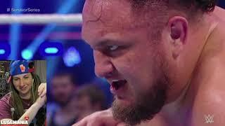 WWE Smackdown 11/6/18 Samoa Joe vs Jeff Hardy
