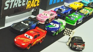 Disney Cars 3 : Street Piston Cup Race! - StopMotion