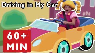 Nursery Rhymes for Kids by Mother Goose Club   Driving in My Car + Road Trip Adventure Baby Songs