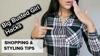 Large Bust, Regular Dress Size Problems! | HACKS, TIPS & FAILS