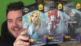 Disney Infinity 3.0 Alice Through The Looking Glass Unboxing Figure Set Review