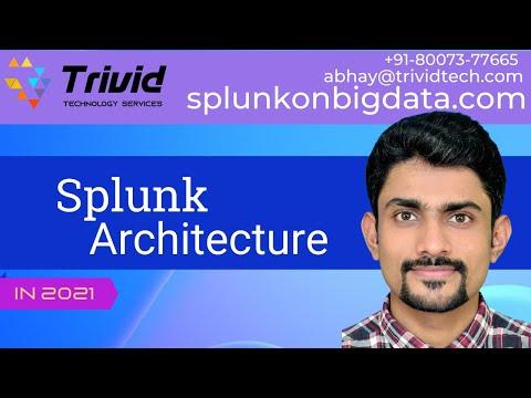 Architecture of Splunk