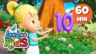 Number Song - Educational Songs for Children | LooLoo Kids