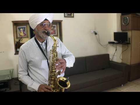 Mere Naina Sawan Bhadon Saxophone Cover Manjit Singh
