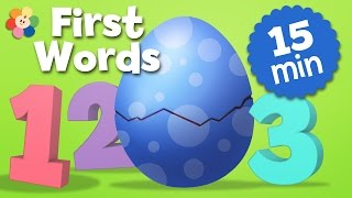 Surprise Eggs Numbers Compilation | Opening Surprise Eggs & Learning To Count