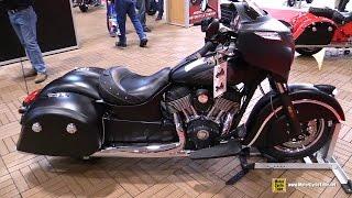 2017 Indian Chieftain Dark Horse - Walkaround - 2017 Toronto Motorcycle Show