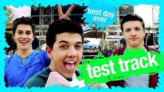 'Lab Rats: Elite Force' - Test Track Ride Reactions | WDW Best Day Ever