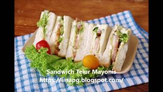 Sandwich Telur Mayonis
