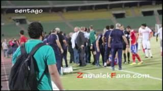 شاهد كواليس  مشاجره وليد سليمان وحماده طلبه    -  كاميرا عكسيه