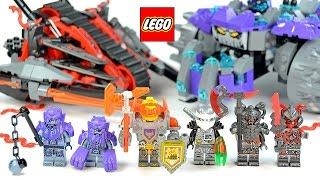 LEGO® Ninjago 70624 Vermillion Invader & Nexo Knights 70350 The Three Brothers vs Monsters