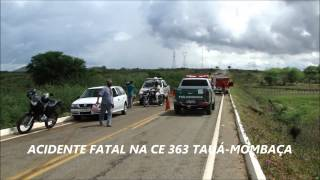 TV DIFUSORA- ACIDENTE FATAL NA CE 363 TAUÁ-MOMBAÇA