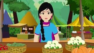 Re Mama Re Mama Re | Re Mama Re Hindi Rhyme | Children's Popular Animated hindi Songs