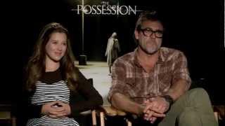 Jeffrey Dean Morgan & Natasha Calis 'The Possession' Interview