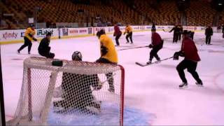 Oct 4 2011 Boston Bruins practice NHL.mp4
