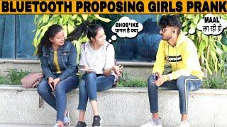Bluetooth Prank -Flirting with Hot Girls   Epic-Reactions #-3   prank in india  Jaipur tv  