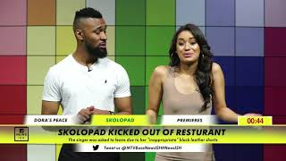 Skolopad kicked out of restaurant
