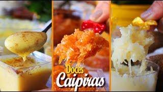3 DOCES CAIPIRAS - CURAU, COCADA E DOCE DE ABÓBORA | RECEITA DE FESTA JUNINA | DIKA DA NAKA