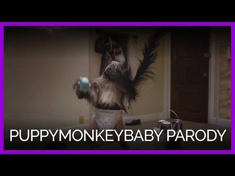 Xxx Mp4 PETA's Puppymonkeybaby Parody Video 3gp Sex