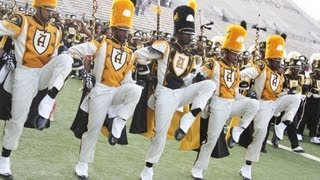Alabama State Marching in Magic City Classic