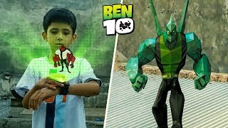 Ben 10 Transformation in Real Life! | A Short film VFX Test