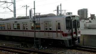 東武30000系31607F 普通北千住行き 曳舟発車 (2014年6月本線所属時)