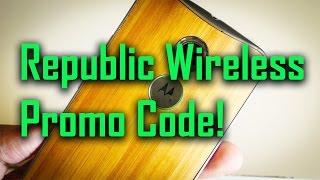 Republic Wireless promo code for Moto G, Moto X!