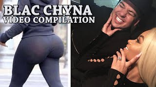 BLAC CHYNA Booty Compilation