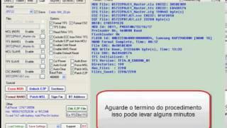 Procedimento de Flash Aparelhos Samsung Guia Swift usando cabo E210J750
