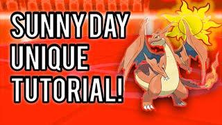 Pokemon Sunny Day Team Tutorial! (Unique Twist) (must watch)