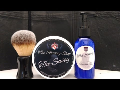 SOTD: Shaving Shop - The Savoy