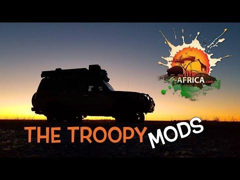 """Land Cruiser Troopy Mods & Setup - """"The Donkey"""""""