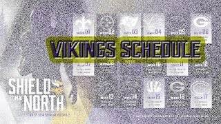 The Minnesota Vikings 2017 Schedule!! 2017 Record Predictions