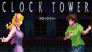 Scary man baby with giant scissors!? | Ep. 1 | Clock Tower (SNES)