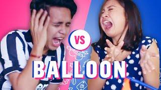 Balloon Challenge | Bro vs Sis #2