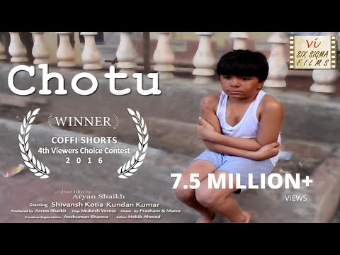 Xxx Mp4 Chotu Award Winning Indian Short Film Starring Shivansh Kotia Six Sigma Films 3gp Sex