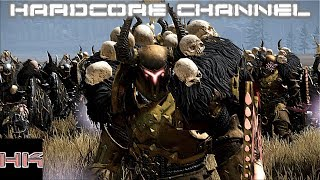 Total War Warhammer - Совместная кампания (Зверолюды-Хаос) Hardcore =3= Планы меняются