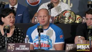 Bellator NYC Press Conference - MMA Fighting