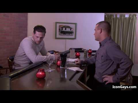 Hot gay guy & bartender are going to have gay sex