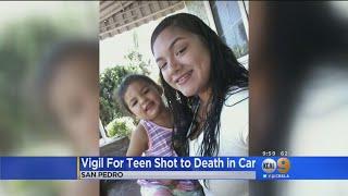 Vigil For Murdered Teen Mom Held In San Pedro