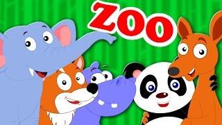 Wonderful Zoo | Original Kids Song | Animal Sound Song | Baby Rhymes | Nursery Rhymes | Kids Tv